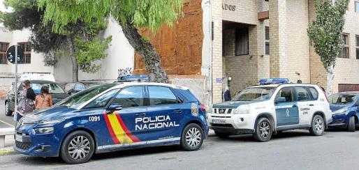 Ayer se realizó la autopsia en el Instituto de Medicina Legal y Forense de Ibiza. Foto: DANIEL ESPINOSA