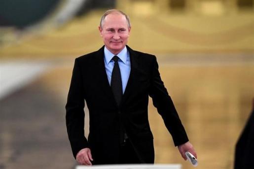 Imagen de Vladimir Putin.