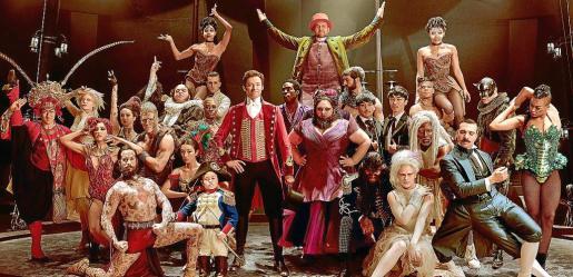 Hugh Jackman, Michelle Williams, Zac Efron y Zendaya protagonizan 'El gran showman'.