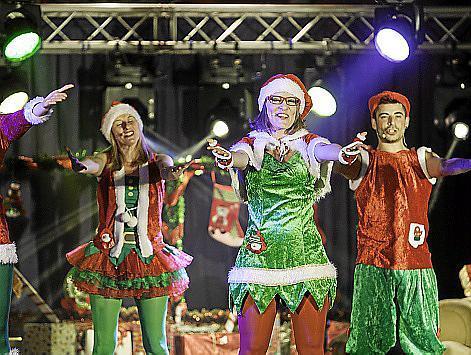 La divertida representación tuvo lugar ayer por la tarde en la Plaza Antoni Albert I Nieto de Ibiza.