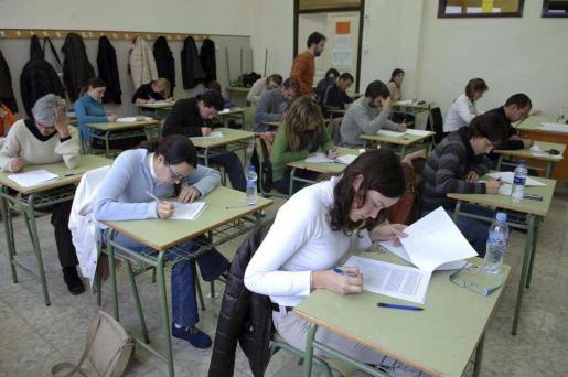 Imagen de archivo de un examen para la obtención de un nivel oficial de catalán.