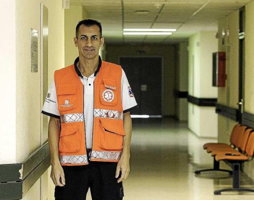 Ángel Crespo, coordinador médico del 061 en Ibiza y Formentera.