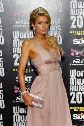 Paris Hilton asiste a los Premios de la Música del Mundo 2010 el martes 18 de mayo de 2010.