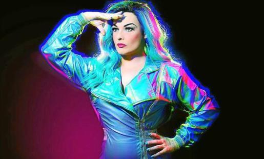 'La Prohibida', la 'drag queen' gaditana que participará en la Cabalgata de Vallecas de mañana.