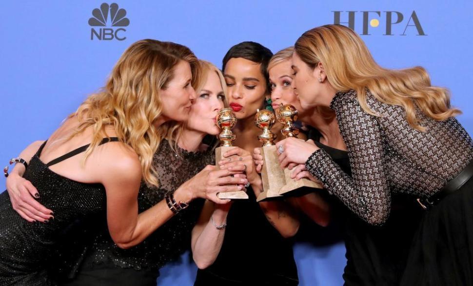 Press Room - 75th Golden Globe Awards