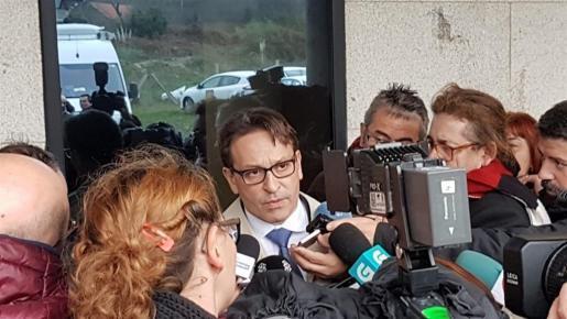 """José Ramón Sierra, abogado defensor de José Enrique Abuín Gey, alias """"El Chicle""""."""