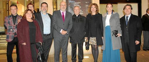 David Gelabert, Carmen Palomino, Cati Socías, Jesús Jurado, Miquel Ensenyat, Sebastià Taltavull, Francisca Mora, Margalida Prohens y Mauricio Rovira.
