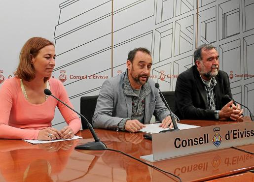 El conseller insular de Medi Ambient, Miquel Vericad, avanzó ayer que ya se ha presentado un proyecto para instalar placas fotovoltaicas en el Matadero de Ibiza .