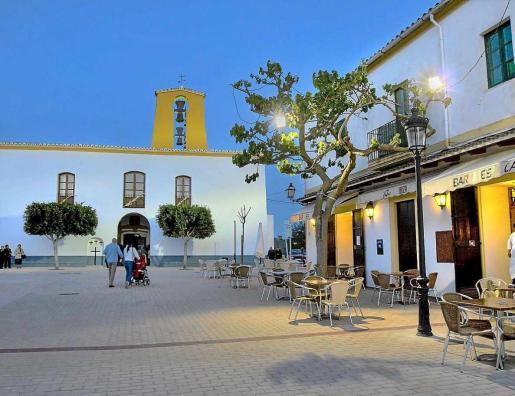 El pueblo de santa Gertrudis es un ejemplo de turismo familiar.