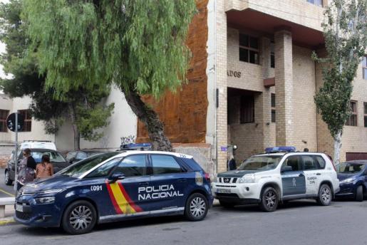 El hombre fue detenido en ses Figueretes por una patrulla del Cuerpo Nacional de Policía.