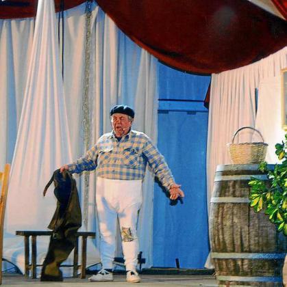 Imagen de una actuación anterior del grupo de teatro.