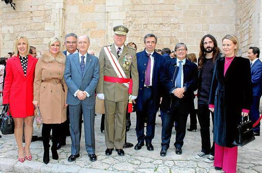 Catalina Soler, Marta Díaz, Bartomeu Barceló, Antoni Terrassa, Juan Cifuentes, Miquel Vidal, Vicenç Thomàs, Baltasar Picornell y María Salom.