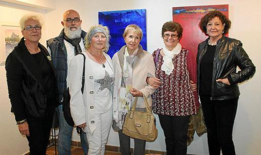 Margarita Martorell, Jorge Font, Anna Lisa Eller, Bárbara Sirer, Juana Oliver y Francisca Llabrés.