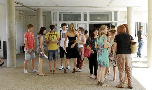 El IES Sa Colomina, en la imagen de archivo, es el lugar donde se realizarán las pruebas en Ibiza.