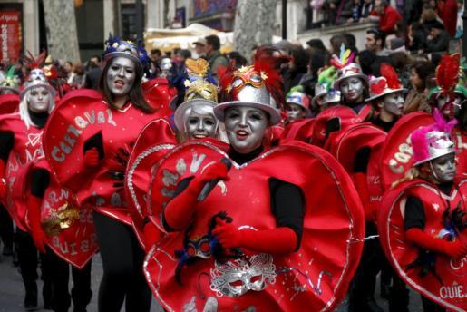 Imagen de archivo de la celebración de Sa Rua en Palma.