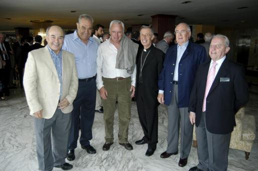 Diego Puigcercós, Carlos Ferret, Luis Piña, Luis Francisco Ladaria, Gabriel Le Senne, Lluís Truyols.