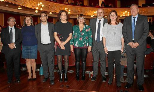 Vicenç Thomàs, Fanny Tur, Iago Negueruela, Catalina Cladera, Bel Busquets, Miquel Ensenyat, Francina Armengol y Juan Cifuentes.