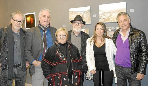 Miquel Aguiló Pellicer, Carlos Ordinas, María Antonia Porcel, Gabriel Mestre, Candela Alcibar y Xisco Barceló.