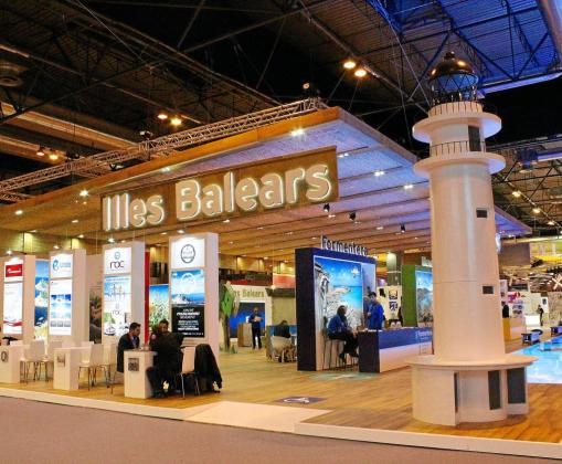 Balears presentó el mismo estand del pasado año, con algunas mejoras de accesibilidad.