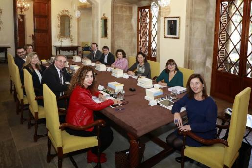Imagen del Consell de Govern que se celebró ayer.