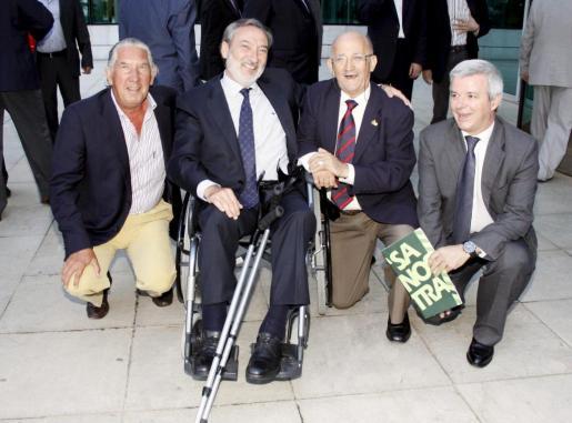 Fernando Marqués, Pau Dolç, Demetrio Peña y Llorenç Julià.