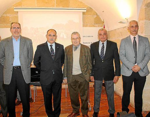 Joan Ramis, Bernardo Albertí Dumas, Rafael Durán, Fulgencio Coll y Eduardo Gutièrrez de Ruvalcaba.