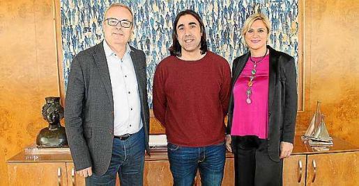 Vicent Torres, Ernesto Pardo y Marta Díaz.