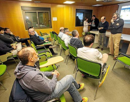 Imagen de la última reunión del Sindicato Médico en Ibiza.