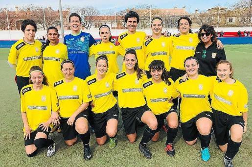 Una imagen del Atlético Jesús femenino.