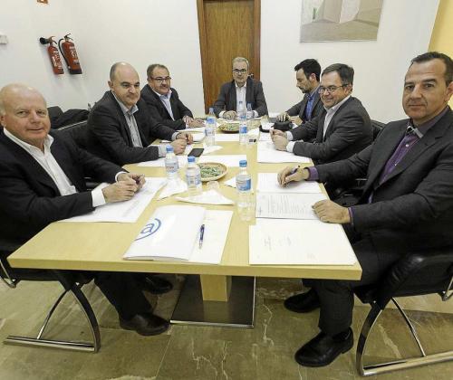 El Ayuntamiento de Sant Joan acogió ayer el primer Consell d'Alcaldes de 2019.