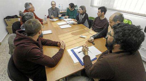 Reunión de la Comisión de Seguimiento celebrada ayer en Ibiza.
