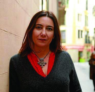 La diseñadora Úrsula Mascaró, ayer en Palma.