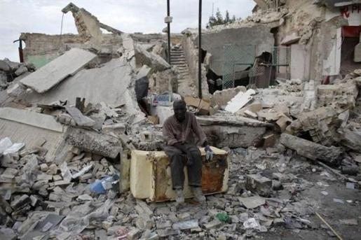 Imagen de archivo del terremoto de 2010 en Haití.