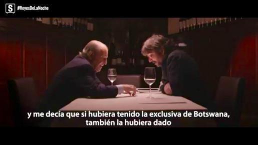El emérito accedió a tener una conversación telefónica con el periodista para dedicar unas palabras al periodista deportivo José María García.
