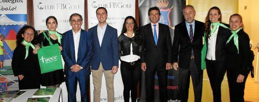 Camila Durán, Tania López, Jaume Juan, Llorenç Galmés, Odette Font –campeona de España de Golf por 2º año consecutivo–, Gabriel Company, Luis Nigorra, Jeanyne Paglioni y Belén Alfaro.