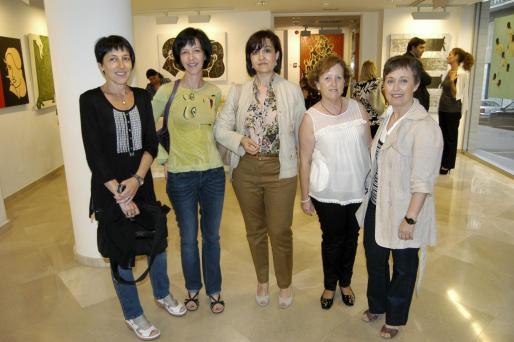 Aida Marsol, Catalina Cerdá, Joana María Torrens, María Antonia Rosselló y Trinidad Gómez.