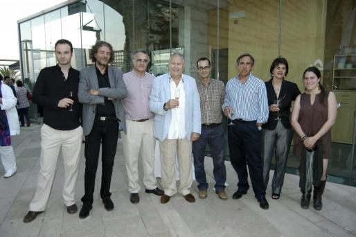 Perico Gual, Pedro Gual, Miquel Salas, Pep Sans, Xisco Gomis, Gabriel Morell, Victoria Luján y Teresa Vidal.