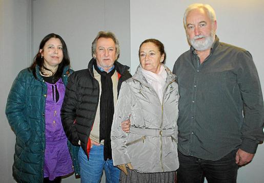Margarita Roca, José Luis Ponce, Concha del Mar y José Luis Luna.