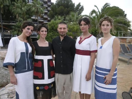 María José Pérez,Lucía Hassanien, Iván Ferrero, Natalia Ferrer y Lynn Pfaff.