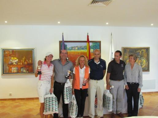 Sabine Abfalterer, David Casado, Angela García, Antonio Sánchez, Jaime Frau y Vicky Pertierra.