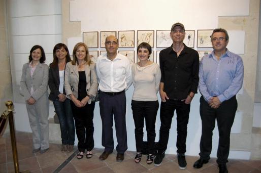 Catalina Sureda, Caty Riera, María Bover, Carles Gomis, Bel Febrer, Enric Font y Mateu Ballester.