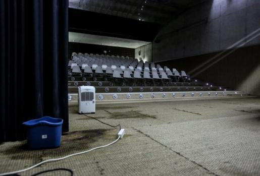 Las goteras vuelven de nuevo a las instalaciones del Conservatorio de Ibiza.