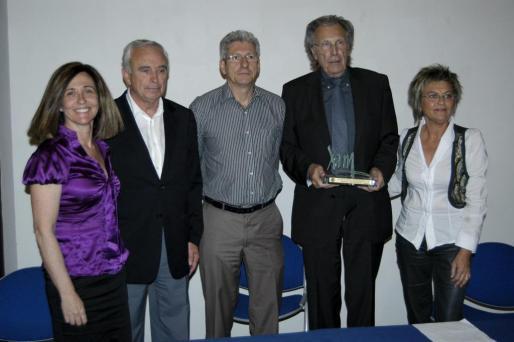 Ana Fageda, Luis Piña, Eberhard Grosske, Erwin Bechtold y María Ramón.