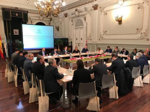 Comisión de Diputaciones, Cabildos y Consells de la Federación Española de Municipios y Provincias celebrada en Galicia.