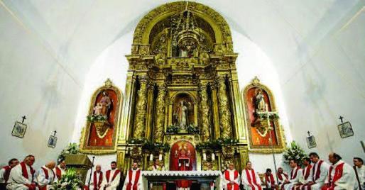 El obispo de Ibiza y Formentera, Vicente Juan Segura, hizo el anuncio el lunes por la mañana durante la misa que ofreció por el día grande de Santa Eulària.