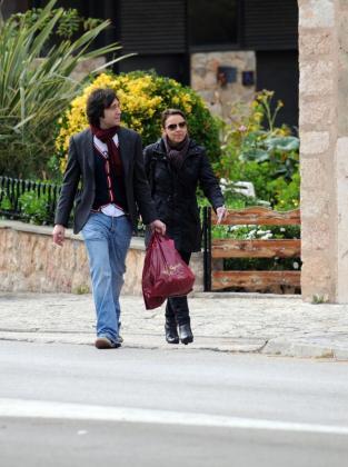 Chenoa y su pareja actual, Alain Cornejo.