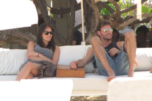 Helen Lindes y Rudy Fernandez juntos en Ibiza.