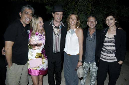 Miquel Ferriol, Susy Boades, Santiago Auserón, Concha Oliver, Pep Llambias y Aina Lorente.