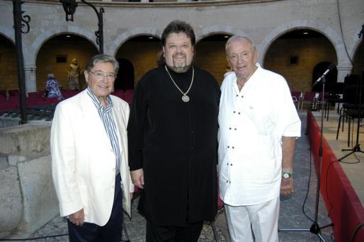 Joan Fageda, Johan Botha y Josef Egger.