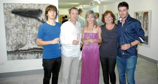 Ferran Biel Barber, Ferran Barber, Angelines Miró, Maria Magdalena Marimon y Biel Perelló Marimon.